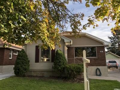 Salt Lake City Single Family Home For Sale: 1458 E Hollywood Ave S