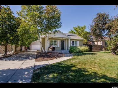 Salt Lake City Single Family Home For Sale: 2776 S 2475 E