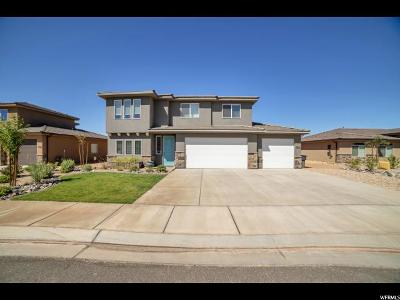 St. George Single Family Home For Sale: 5919 S Sirius Way