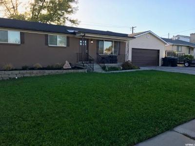 Murray Single Family Home For Sale: 6819 S Major St