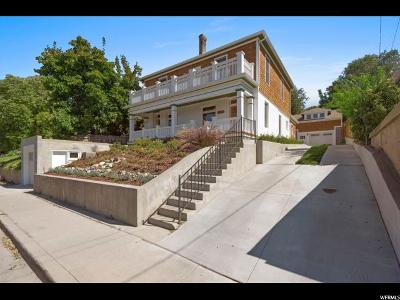 Salt Lake City Single Family Home For Sale: 368 N Quince St