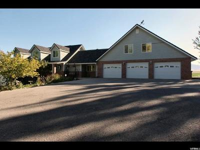 Wellsville Single Family Home For Sale: 3909 W 6400 S