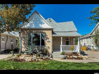 Salt Lake City Single Family Home For Sale: 433 Hollywood Ave