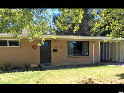 Cottonwood Heights Single Family Home For Sale: 7665 S 2325 E