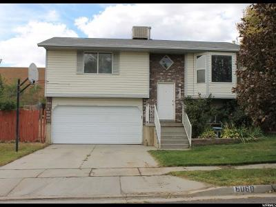 Salt Lake City Single Family Home For Sale: 6060 S 4625 W