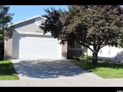 West Jordan Single Family Home For Sale: 5916 W Oakshade Ln S