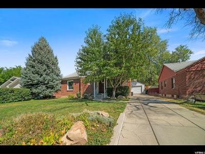Salt Lake City Single Family Home For Sale: 1183 S 2100 East E