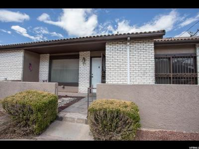 St. George Townhouse For Sale: 777 S 400 E #77