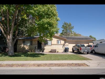 Hyrum Single Family Home Under Contract: 521 Glenwood Dr