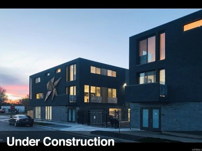 Salt Lake City Townhouse Under Contract: 15 E Kensington Ave #K