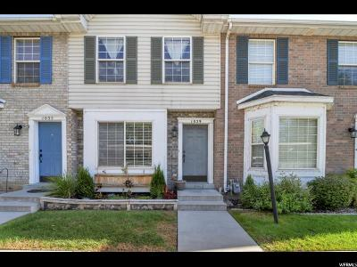 Provo Townhouse For Sale: 1039 S Eastgate Dr. E
