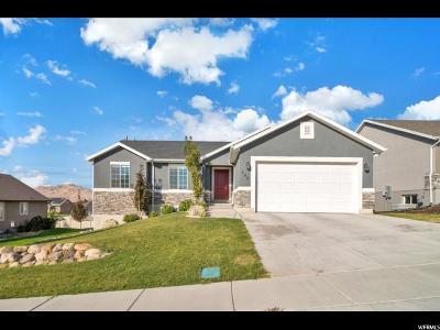 Santaquin Single Family Home For Sale: 585 W Copper S