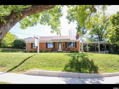 Salt Lake City Single Family Home For Sale: 2470 E Simpson Ave S
