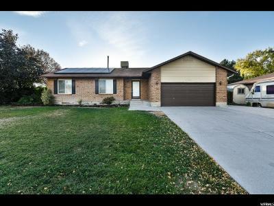 West Jordan Single Family Home For Sale: 7194 S 2370 W