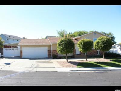 Orem Single Family Home For Sale: 243 W 1925 N