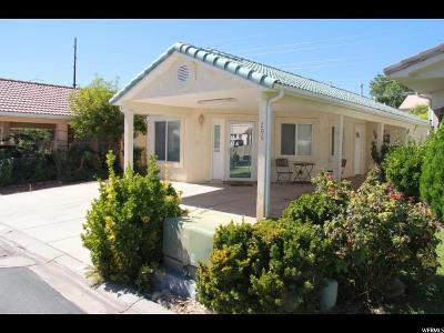 St. George Single Family Home For Sale: 2990 E Riverside Dr S #206