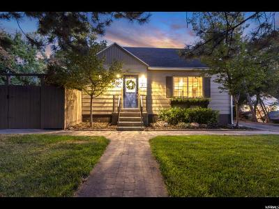 Holladay Single Family Home For Sale: 1910 E Sycamore Ln