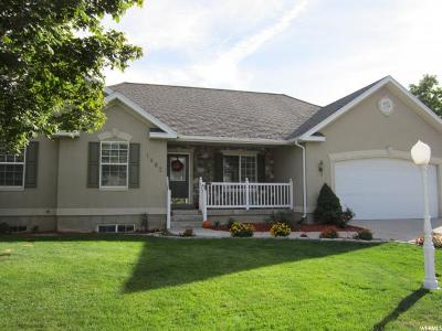 Pleasant Grove Single Family Home For Sale: 1483 W 920 N