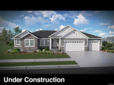 Eagle Mountain Single Family Home For Sale: 668 E Mount Peale Dr #151