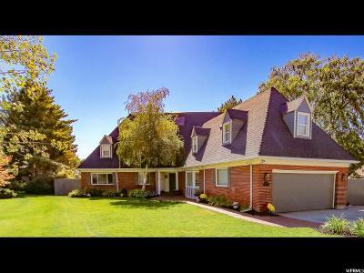 Salt Lake County Single Family Home For Sale: 2552 S Wilshire Cir E