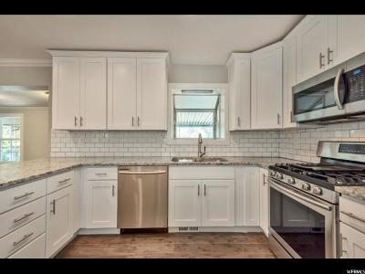 Holladay Single Family Home For Sale: 5556 S Woodcrest Dr E
