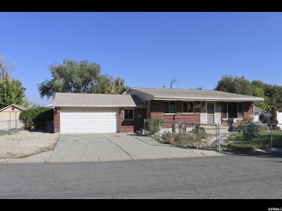 West Valley City Single Family Home For Sale: 5530 W Maudine Ave