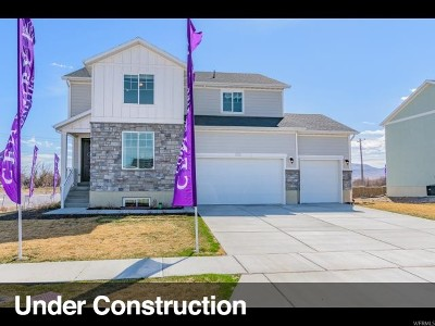 West Jordan Single Family Home Under Contract: 7667 S Wood Farms Dr W #208