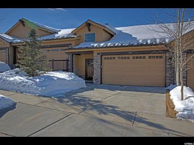 Wasatch County Townhouse For Sale: 1015 W White Cloud Trl #25C