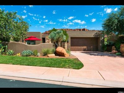 St. George Single Family Home For Sale: 2405 W Entrada Trl #76