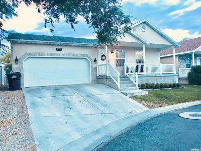 West Jordan UT Single Family Home For Sale: $315,000