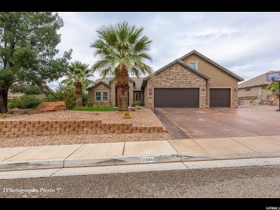 St. George Single Family Home For Sale: 2394 S 1880 Cir E