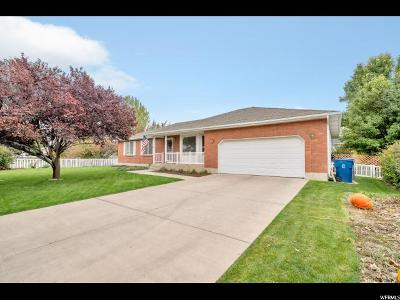 American Fork Single Family Home For Sale: 329 W 1400 N