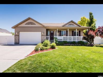 Nibley Single Family Home For Sale: 910 W Garden Cir