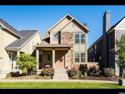 South Jordan Single Family Home For Sale: 10223 S Clarks Hill Dr W
