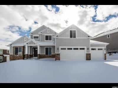 West Jordan Single Family Home For Sale: 8043 S Sawston W #1120