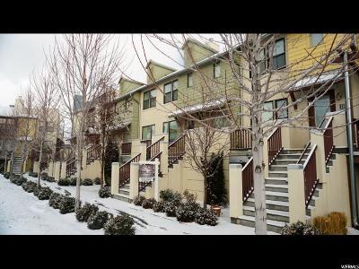 South Jordan Townhouse For Sale: 11386 S Okanogan Ln