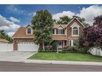 Orem Single Family Home For Sale: 216 Heather Rd