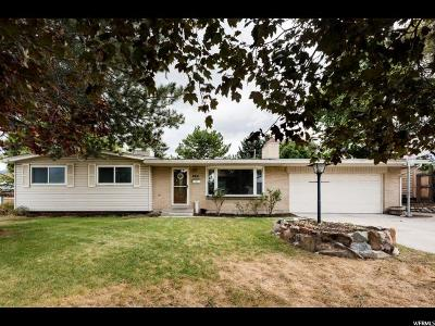 Cottonwood Heights Single Family Home For Sale: 6831 S 1495 E