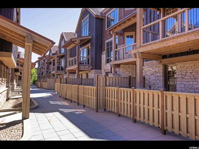 Park City Townhouse For Sale: 1825 Three Kings Dr #302