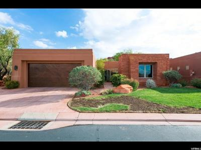 St. George Single Family Home For Sale: 2410 W Entrada Trl #39