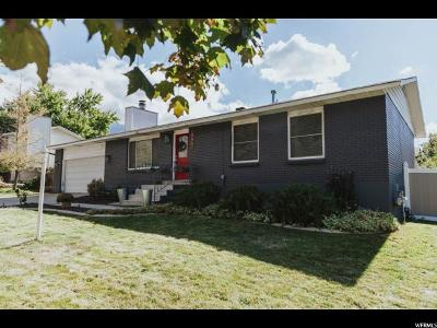 Cottonwood Heights UT Single Family Home For Sale: $385,000