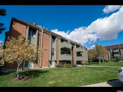 Salt Lake City Condo For Sale: 1180 S Foothill Drive Dr #715