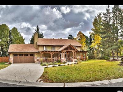 Park City Single Family Home For Sale: 2420 Little Kate Rd