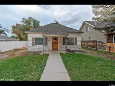 Wasatch County Single Family Home For Sale: 135 N 200 W