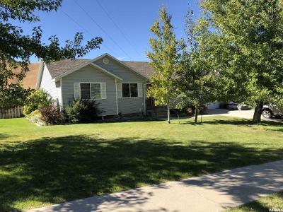 Tooele Single Family Home For Sale: 726 Crestview