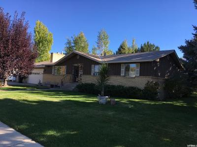Heber City Single Family Home For Sale: 161 W 700 S