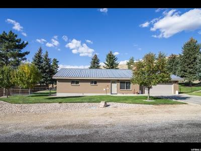 Wasatch County Single Family Home For Sale: 175 E 100 N