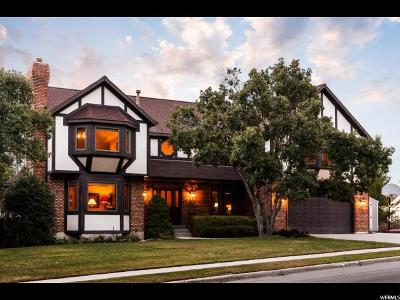 Cottonwood Heights UT Single Family Home For Sale: $739,000