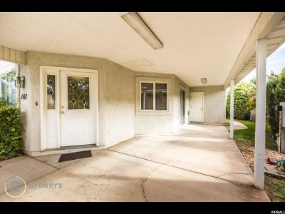 St. George Single Family Home For Sale: 2990 E Riverside Dr #147
