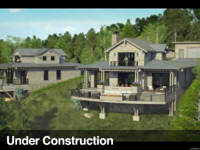 Heber City Single Family Home Under Contract: 7398 E Moon Light Dr #A,  2.4